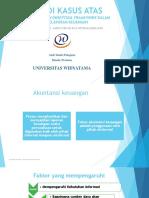 Studi Kasus Atas Penggunaan Conseptual Framework Dalam Pelaporan
