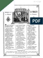 Gozos a la Virgen de Gracia de Caudete (Texto impreso entre1835-1871)