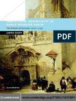 CASEY, James. Family and Community in Early Modern Spain. Cambridge. Cambridge University Press. 2007. Pp:314