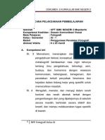 Contoh RPP Jurusan DKV Mapel Fotografi