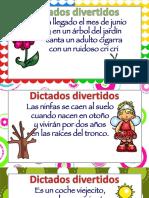 Dictados SUPER Divertidos Para Infantil y Primaria