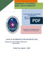 Formato de Presentación de Proyectos - FICCT
