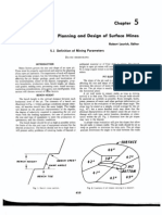 5.1 Planning and Design of Surface Mines Definition of Mi