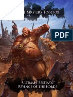 Nord Games - GM's Toolbox - Ultimate Bestiary - Revenge of the Horde