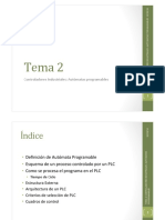 Tema2 Controladores Industriales - Automatas Programables