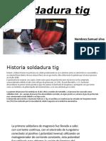 Soldadura TIC