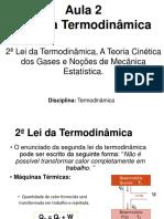 Aula 2 - Leis da Termodinâmica