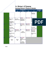 motsinger learning contract calendar