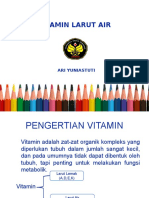 Vitamin Larut Air