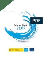 Informe Anual 2015 ACUAMED