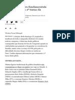 Oito informações fundamentais para entender o 1º turno da eleição - 08_10_2018 - Poder - Folha