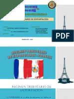 Régimen Tributario de Exportación-francia