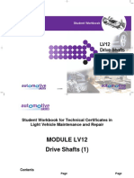 LV12 - Drive Shafts -Issue 1