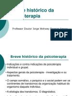 Breve Histórico do Psicoterapia