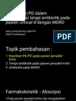 Strategi PK PD dalam optimalisasi terapi antibiotik pada pasien critical ill dengan MDRO  .pdf