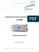 Aeroflex Communication Test Equipment