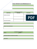 5 Form Proyecto Aprendizaje