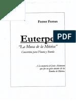 Ferrer Ferran - Euterpe - Concertino para Flauta & Banda Sinfoìnica - Score Orquestal & Partes.pdf