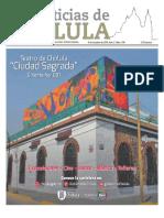 Edición impresa Noticias de Cholula del 8 de octubre de 2018
