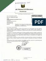 Proyecto de ley que incorpora nuevo estatuto de cancelación y declaratoria de ilegalidad de organizaciones políticas por conductas fraudulentas