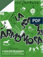 [Spartito - Sheet Music] Antonio Trombone - La Scatola Armoniosa - Fascicolo 1 - 12 Piccoli Pezzi Per Pianoforte.