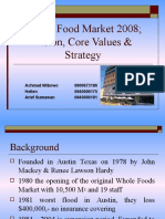 Whole Food Market 2008