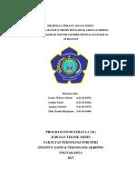 Proposal Perancangan Mesin Pengaduk Dodol