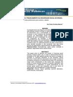 Combate a Pobreza e Financiamento Da Seguridade Social No Brasil