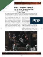 Games workshop - Necromunda - Blind Fighting