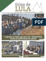 Edición impresa del Noticias Cholula del 8 de octubre de 2018