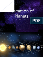 4. Formation of Planets by CJF