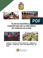 Plan de Desarrollo Concertado de Chincha