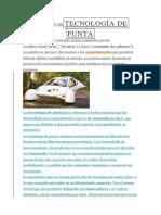 Definición Detecnología de Punta