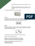 Interruptores Trabajo de Instalaciones