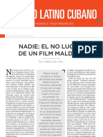"""""""Nadie""""  por Pablo de Vita"""