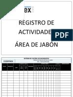 BITACORA JABON