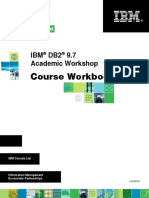 IBM DB2 9.7 Academic Workshop Course Book