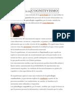DEFINICIÓN DE COGNITIVISMO