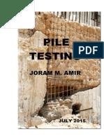 Pile Testing 2015