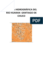 Cuenca Hidrográfica de Santiago de Chuco Informr