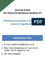 Kontrak Mk Media Berbasis Ict