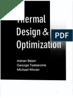 Adrian Bejan, George Tsatsaronis, Michael Moran - Thermal Design and Optimization (1995, John Wiley & Sons).pdf