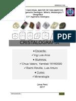 Minerales y Sistemas en Que Cristalizan