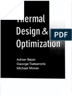 Adrian Bejan, George Tsatsaronis, Michael Moran - Thermal Design and Optimization (1995, John Wiley & Sons).pdf