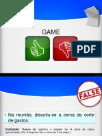 Game V ou F