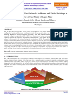STATISTICAL ANALYSIS OF FIRE OUTBREAKS IN HOMES AND PUBLIC BUILDINGS IN NIGERIA