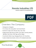 Britannia- Company Analysis