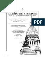 Debate Diputados Reforma Ley de Trata de Personas