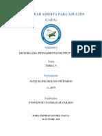 Tarea 5 Histotia Del Pensamiento Politico y Social