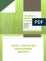 Clases Genetica Mejoramiento Forestal Temas 1 Al 6